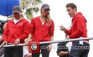 Mario Lopez, Matthew Morrison and Stacy Keibler