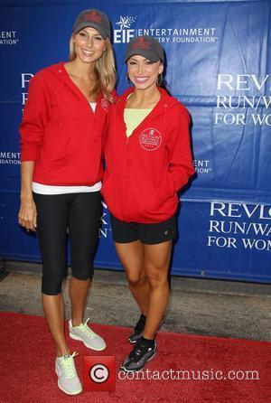 Stacy Keibler and Karina Smirnoff
