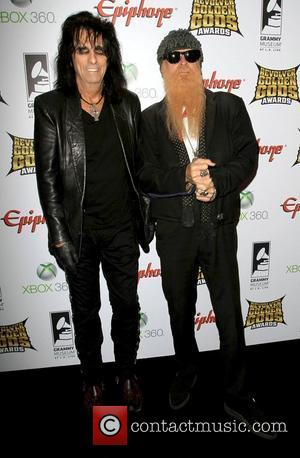 Alice Cooper and Billy Gibbons