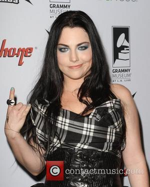 Amy Lee 2012 Revolver Golden Gods Award Show held at the Nokia Club Los Angeles, California - 11.04.12