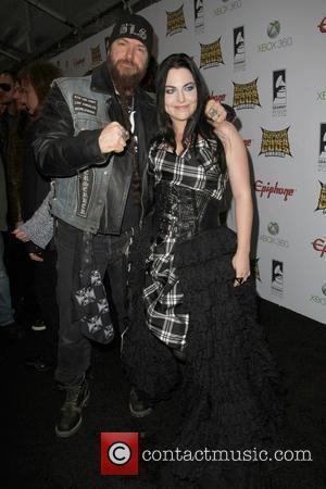 Zakk Wylde and Amy Lee