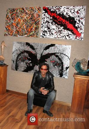 Richard Grieco hosts 'Works on Canvas' Art Debut at Wyland Galleries Las Vegas, Nevada - 02.11.12