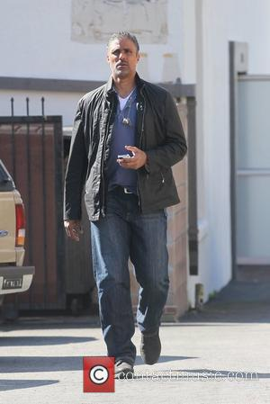 Rick Fox seen in West Hollywood Los Angeles, California - 23.02.12