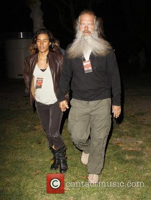 Rick Rubin arrives at the LA Coliseum to watch Roger Waters in concert Los Angeles, California - 19.05.12