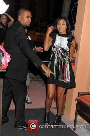 Gabrielle Union  Birthday party for Rico Love at Vic & Angelo's South Beach restaurant  Miami, Florida - 02.12.11
