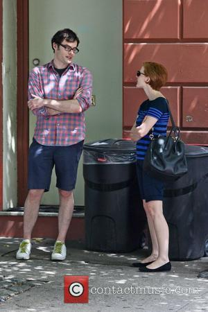 Bill Hader and Jessica Chastain