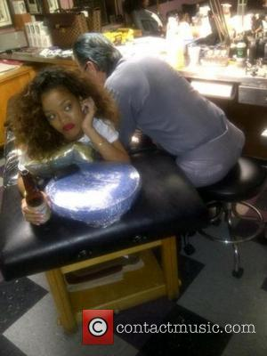 Rihanna and Tattoo
