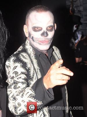 Christian Audigier  attended Rihanna's Halloween party held at Greystones Manor in West Hollywood  Los Angeles, California - 31.10.12