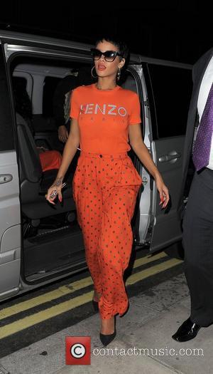 Rihanna And Jay-z Celebrate Paralympics Triumph With Lady Gaga