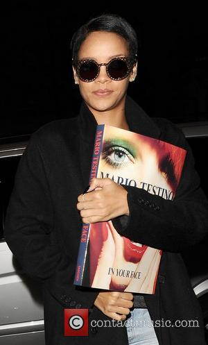 Rihanna, Mario Testino's and In Your Face