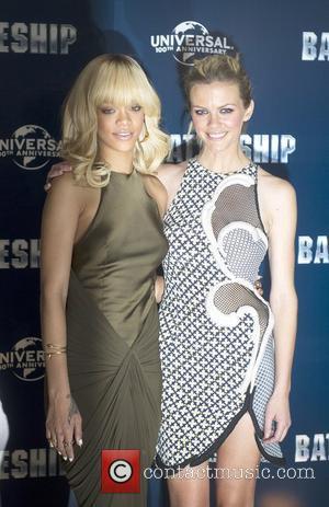 Rihanna and Brooklyn Decker