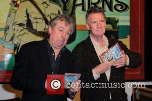 Terry Jones and Michael Palin Michael Palin and Terry Jones sign copies of their new DVD, 'Ripping Yarns: The Complete...