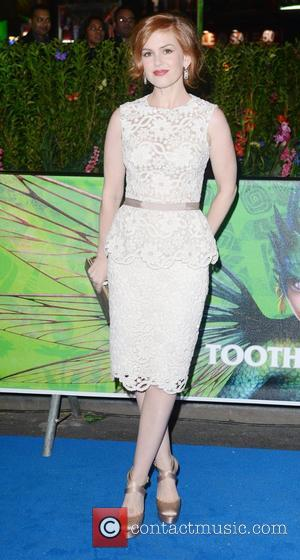 Isla Fisher UK film premiere of 'Rise of the Guardians' held at the Empire Cinema - Arrivals London, England -...