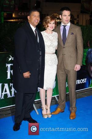 Peter Ramsey, Isla Fisher, Chris Pine and Empire Cinema