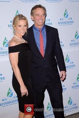 Cheryl Hines and Robert F Kennedy