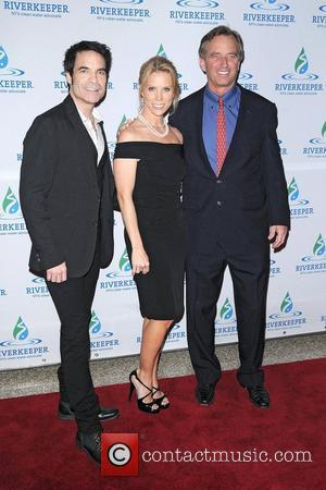 Pat Monahan, Cheryl Hines and Robert F Kennedy