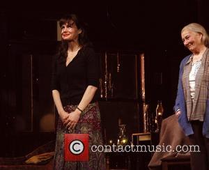 Carla Gugino and Rosemary Harris