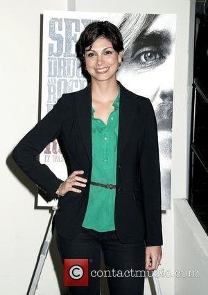 Morena Baccarin,  at the screening of Roadie at the Angelika Film Center. New York City, USA - 06.12.11