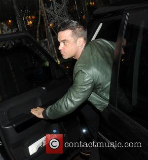 Robbie Williams arriving at his hotel  Featuring: Robbie Williams