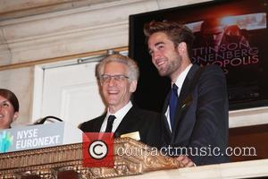 David Cronenberg and Robert Pattinson