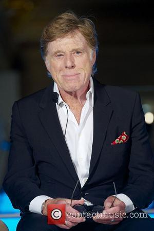 Robert Redford presents the Sundance Channel at Telefonica Headquartersi Madrid, Spain - 26.11.12  ***Not Available for Publication in Spain...