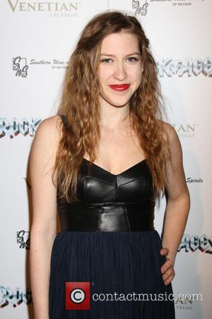 Eden Sher The official opening-night party of 'Rock of Ages' at the Venetian Hotel and Casino  Featuring: Eden Sher...