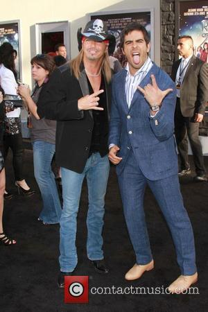 Bret Michaels and Eli Roth