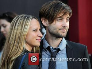 Tobey Maguire, Jennifer Meyer and Grauman's Chinese Theatre