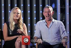 Malin Akerman and Adam Shankman