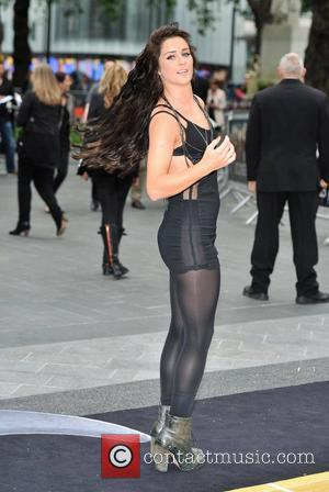 Lucie Jones Rock of Ages - UK film premiere held at the Odeon Leicester Square - Arrivals. London, England -...