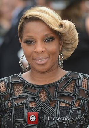 Mary J Blige and Odeon Leicester Square