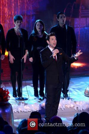Chris Mann, Annual Rockefeller Center Christmas, Rockefeller Center, Tree Lighting Ceremony and Performances