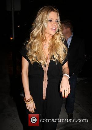 Sophie Monk  outside Rolling Stone Los Angeles, restaurant and lounge in Hollywood Los Angeles, California - 04.04.12