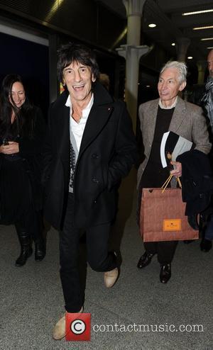 Ronnie Wood and Charlie Watts