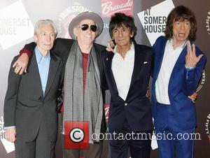 Charlie Watts, Keith Richards, Mick Jagger, Rolling Stones and Ronnie Wood