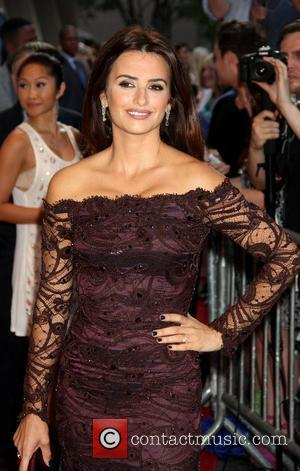 Penelope Cruz The Cinema Society With The Hollywood Reporter & Piaget and Disaronno screening of 'To Rome With Love at...