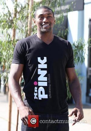 Laker, Ron Artest, Toast Bakery, West Hollywood, Pink Energy Drink T-shirt and Lamborghini