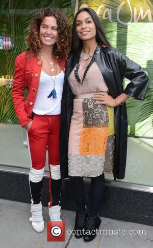 Rosario Dawson and Tara Smith