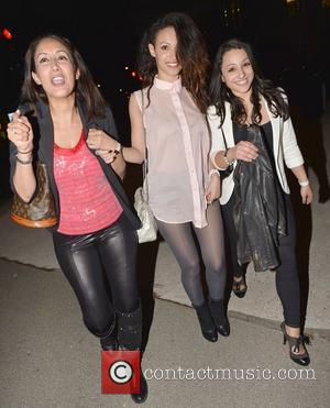 Amelle Berrabah,  at the Rose Club for Tulisa Contostavlos No.1 party for her hit song 'Young' London, England -...