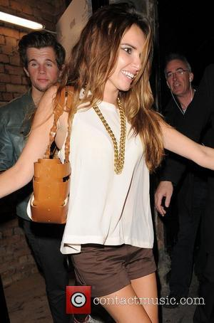 Nadine Coyle leaves the Rose Club at 4am having celebrated her birthday at the venue London, England - 16.06.12