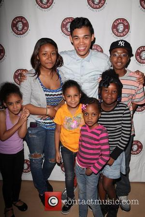 Disney Star Roshon Fegan  promotes his EP 'I Am Roshon' at Earl of Sandwich in Manhattan New York City,...