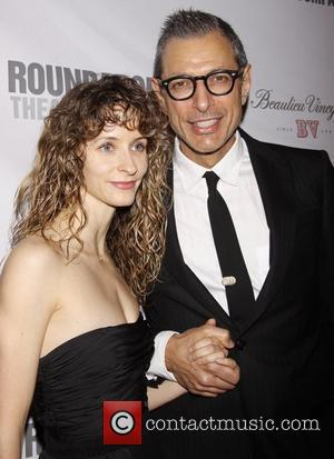 Emily Livingston and Jeff Goldblum Roundabout Theatre Company's 2012 Spring Gala, held at the Hammerstein Ballroom - Arrivals New York...