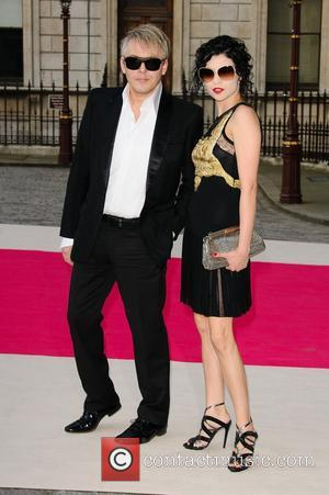 Nick Rhodes Academy Summer Exhibition 2012 - preview party held at the Royal Academy of Arts - Arrivals. London, England...