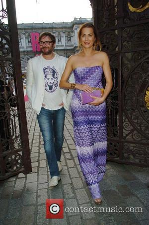 Simon Lebon and Amber Lebon  Royal Academy Summer Exhibition 2012 - preview party held at the Royal Academy of...