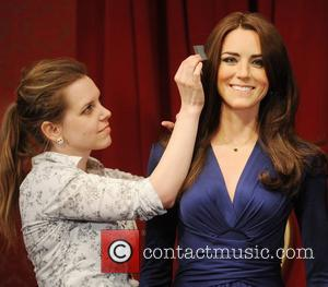 Madame Tussauds London reveals the new wax figures of Prince William and Kate Middleton aka Catherine, Duchess of Cambridge London,...