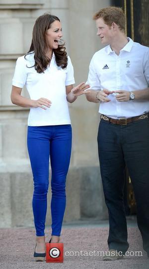 Kate Middleton, Buckingham Palace and Prince Harry