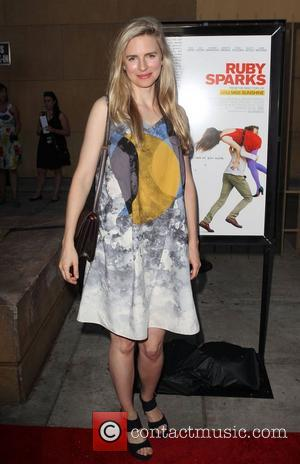 Brit Marling attending the Los Angeles premiere of Ruby Sparks, held at The Lloyd E. Rigler Theatre Hollywood, California -...