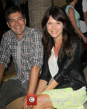 Mark Duplass, Katie Aselton attending the Los Angeles premiere of Ruby Sparks, held at The Lloyd E. Rigler Theatre Hollywood,...