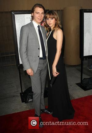 Paul Dano, Zoe Kazan attending the Los Angeles premiere of Ruby Sparks, held at The Lloyd E. Rigler Theatre Hollywood,...