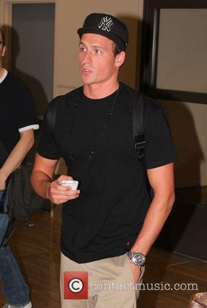 Olympian Ryan Lochte arriving at LAX airport Los Angeles, California - 15.08.12